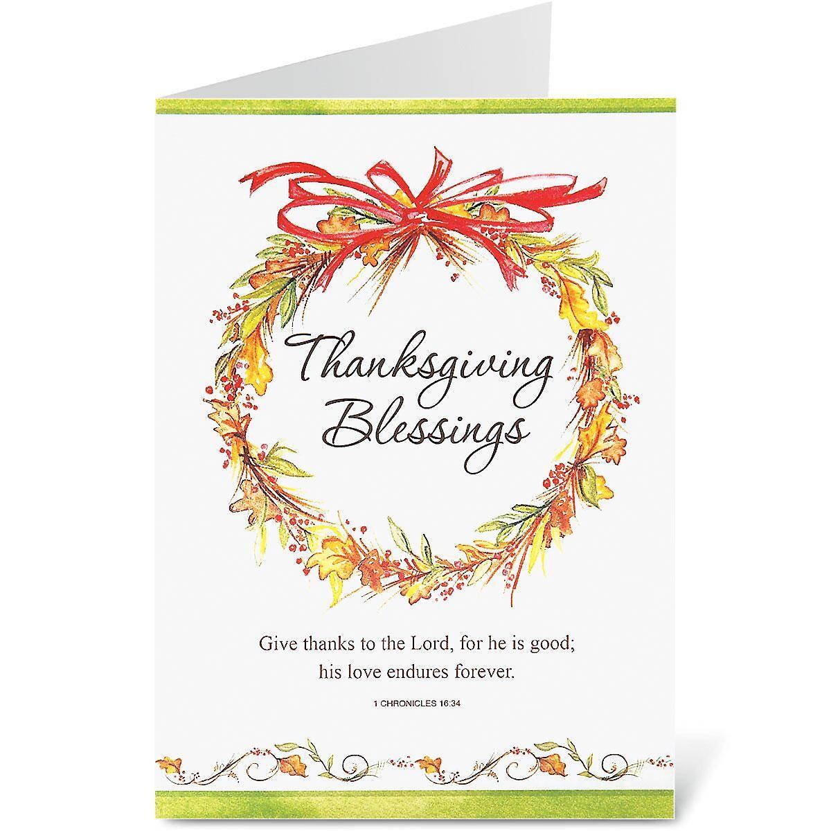 Simple Faith Thanksgiving Cards