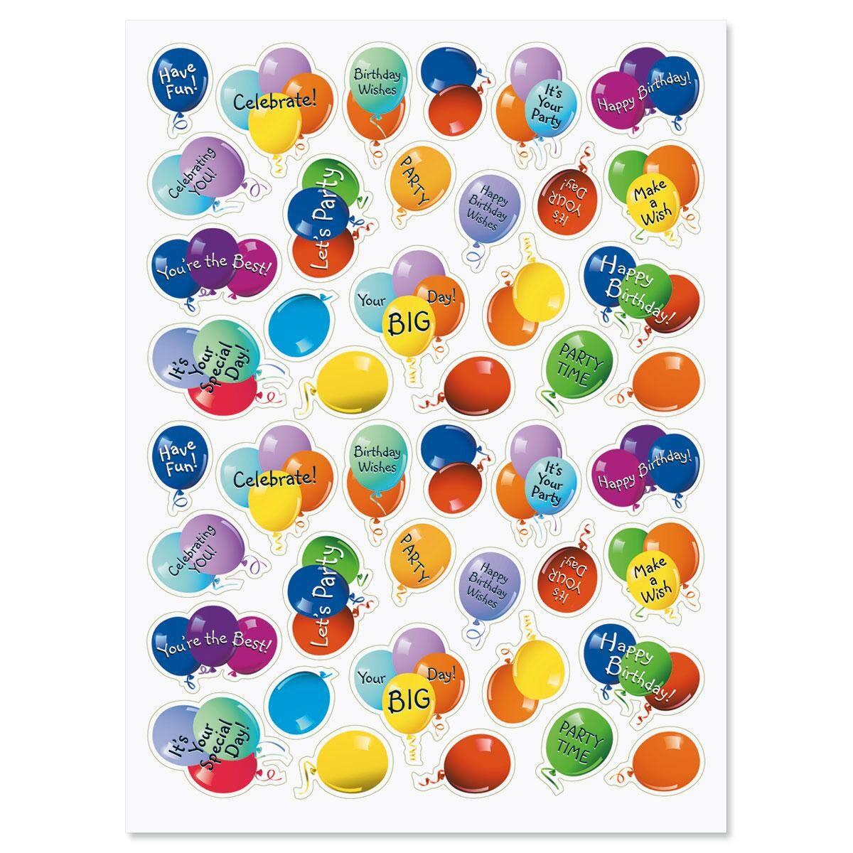 Balloon Stickers