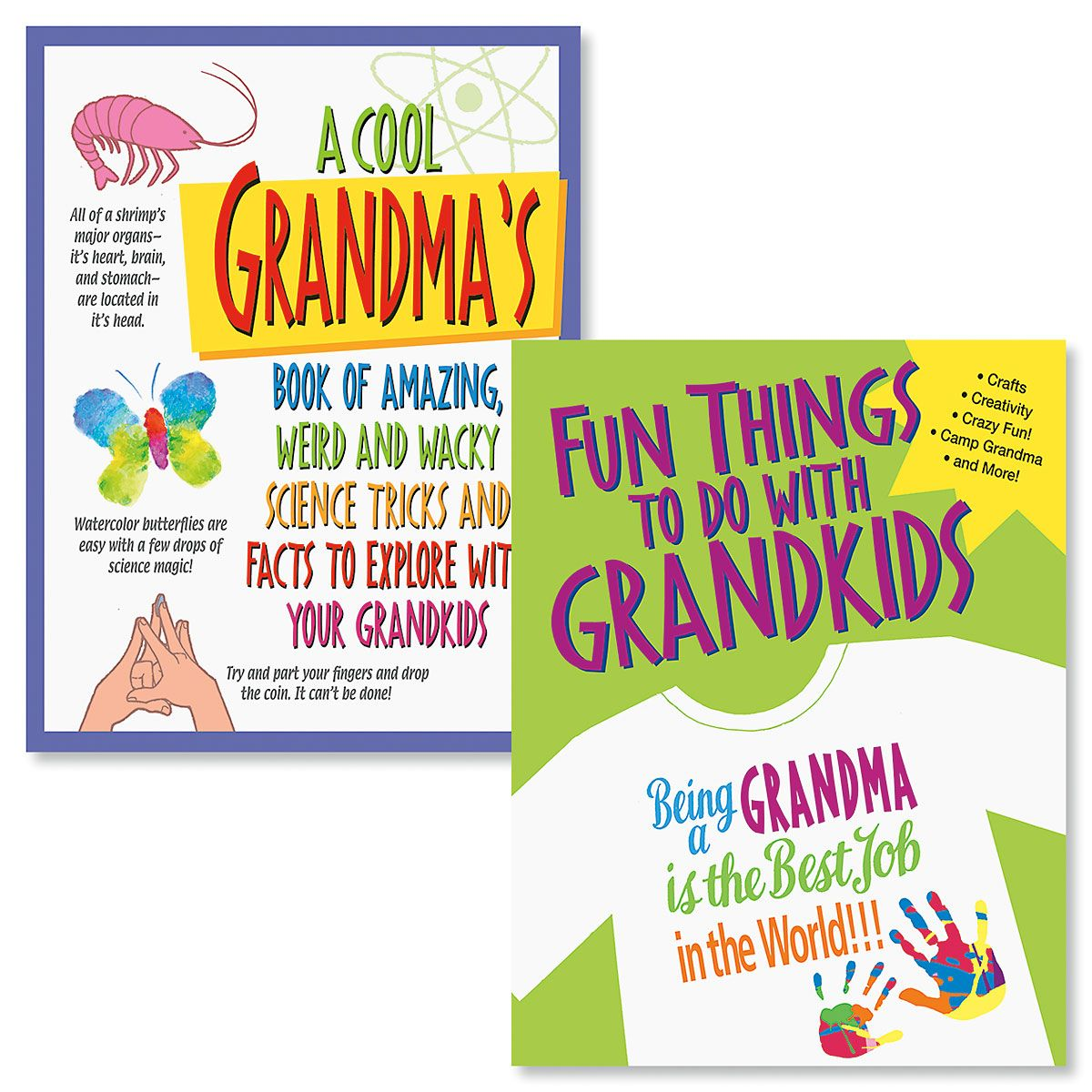 Grandparents Activity Books