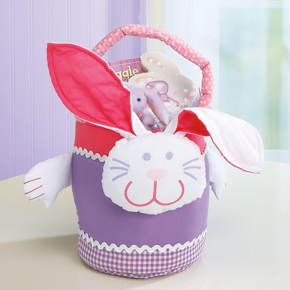 Fabric Easter Bunny Basket