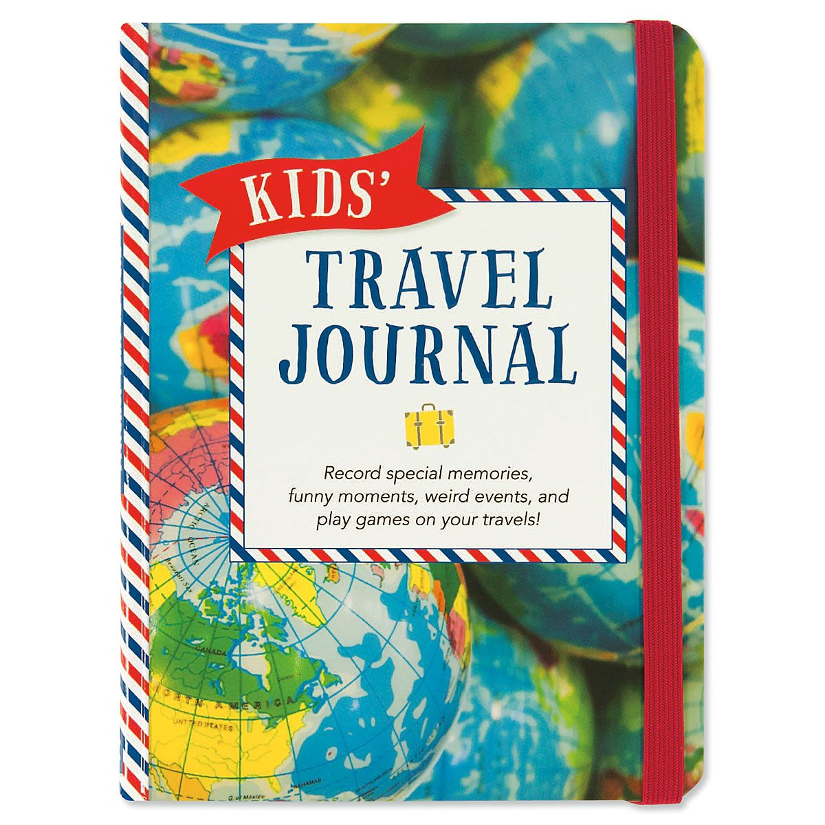 Kids' Travel Personalized Journal
