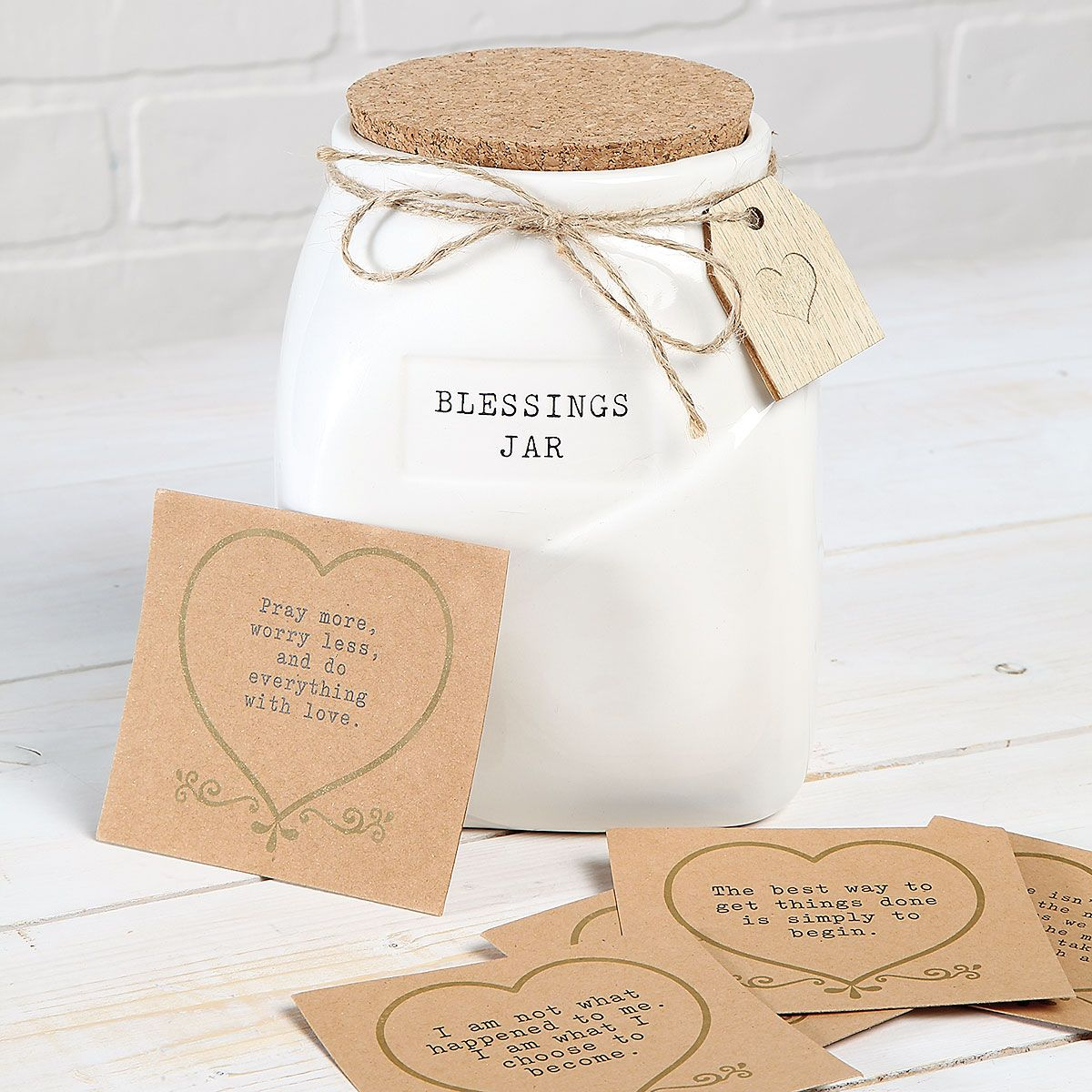 Blessings Jar with Cards