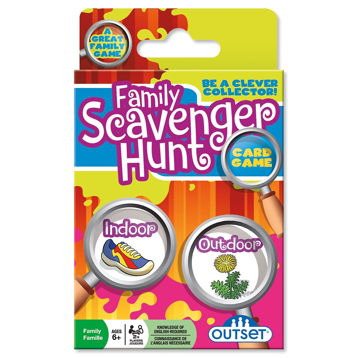 Family Scavenger Hunt Cards