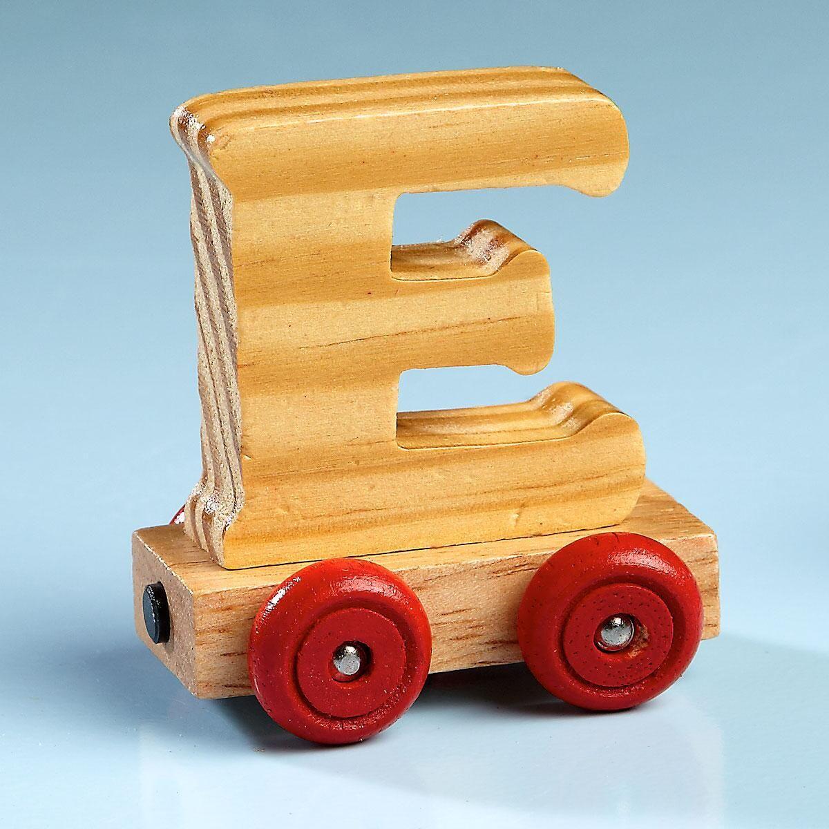 Letter Car - E