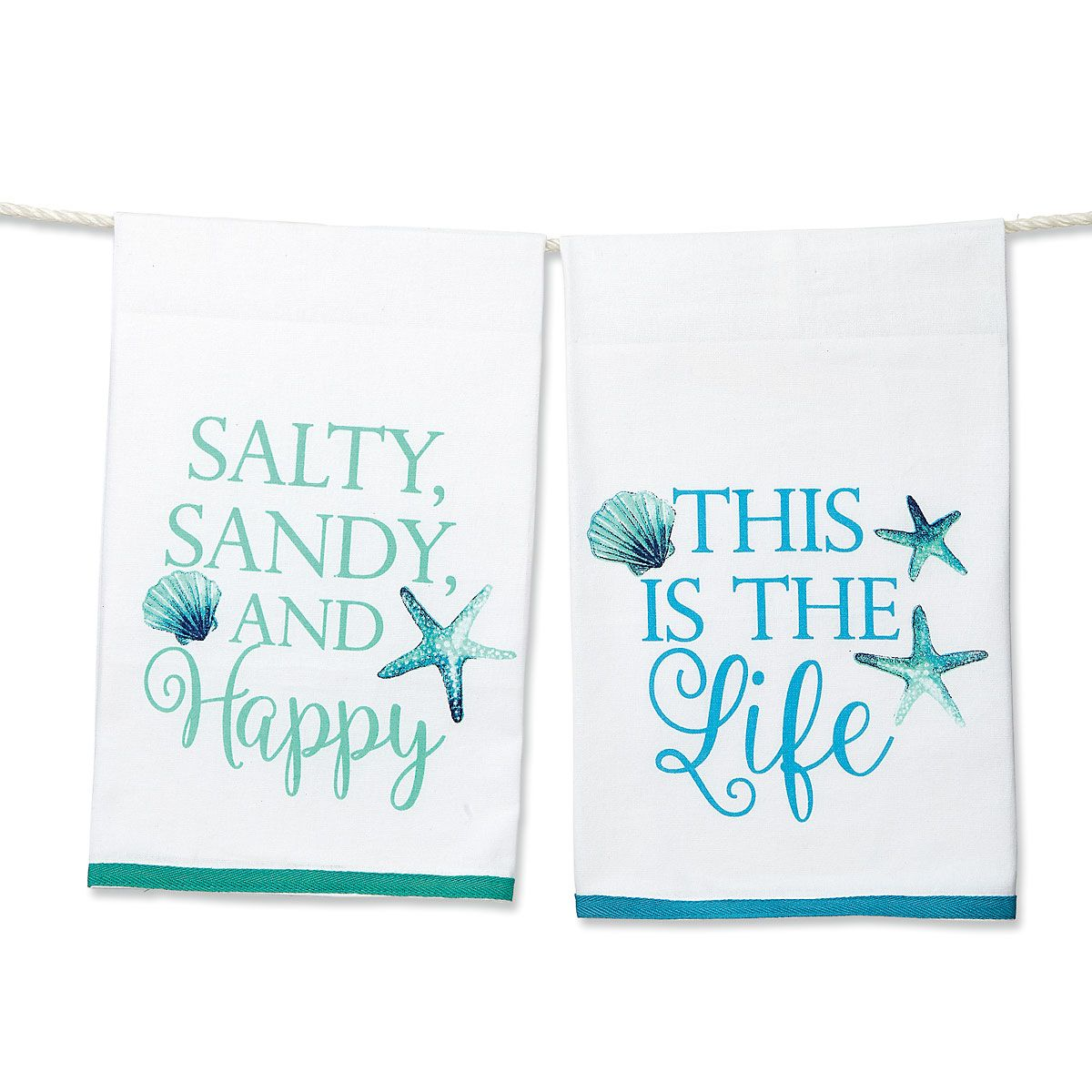 Sea Sayings Dishtowels