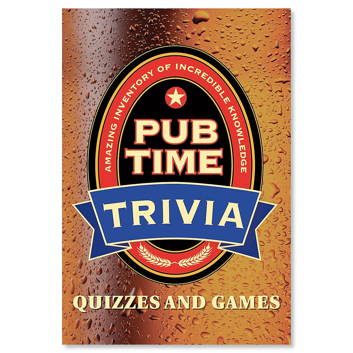 Pub Time Trivia Book
