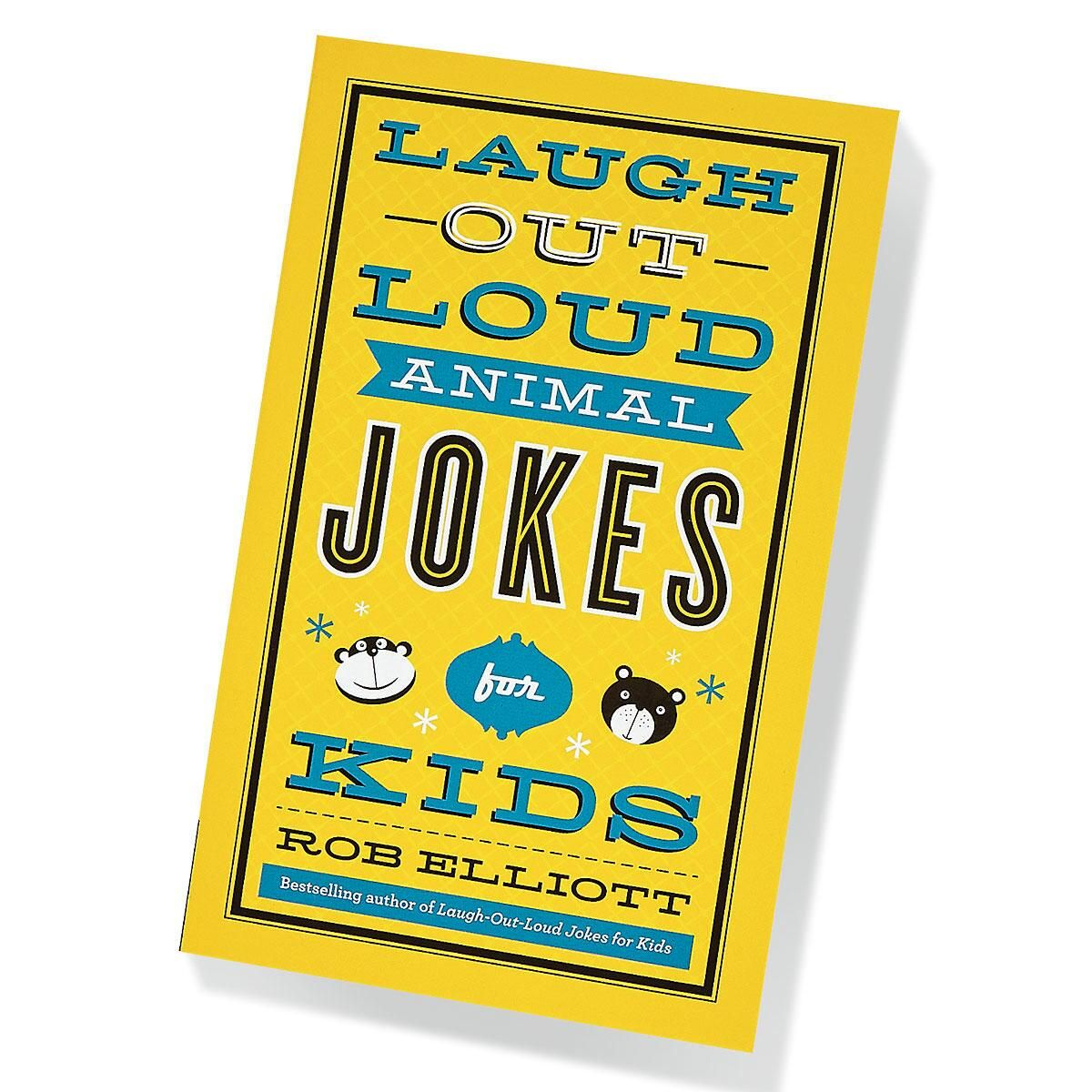 Animal Laugh Out Loud Kids' Jokes Book by Rob Elliott