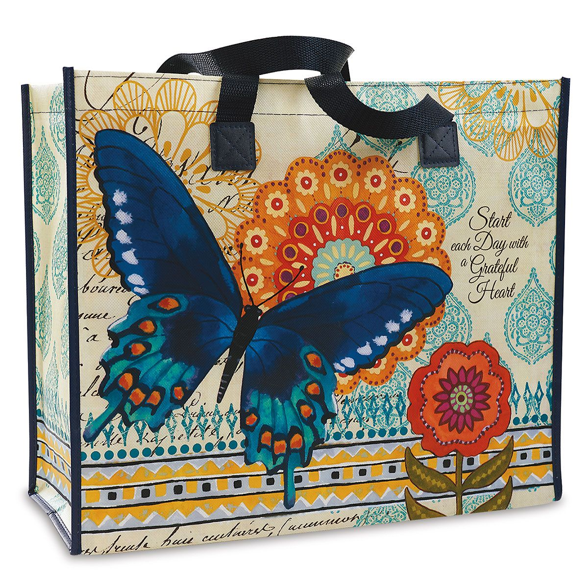 Butterfly Ballad Shopping Tote