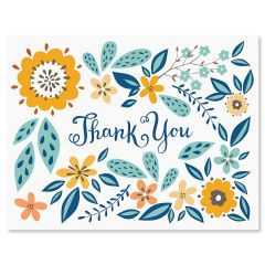 Thank you notes thank you greeting cards current catalog spring floral thank you note cards altavistaventures Image collections
