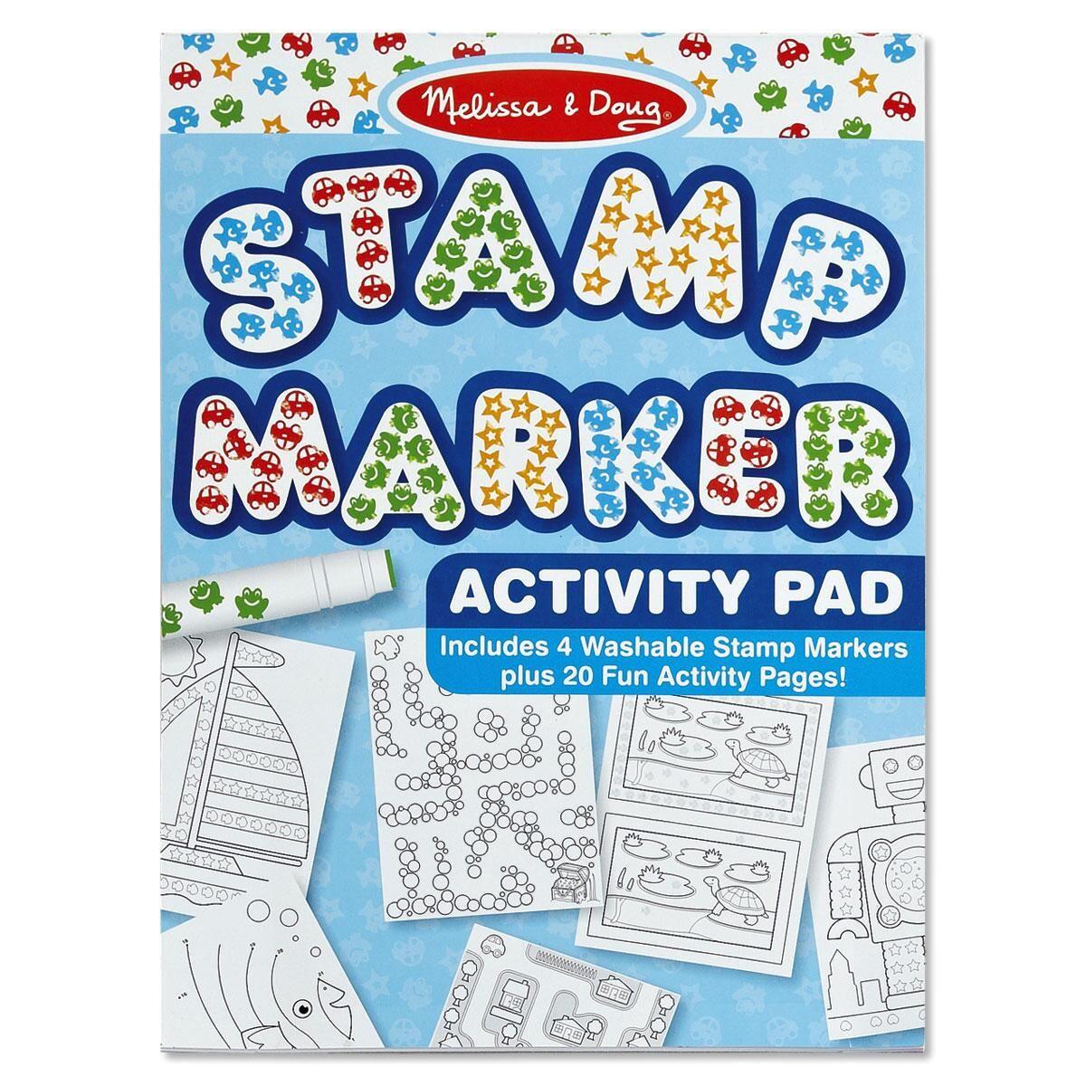Blue Stamp Marker Set  by Melissa & Doug®