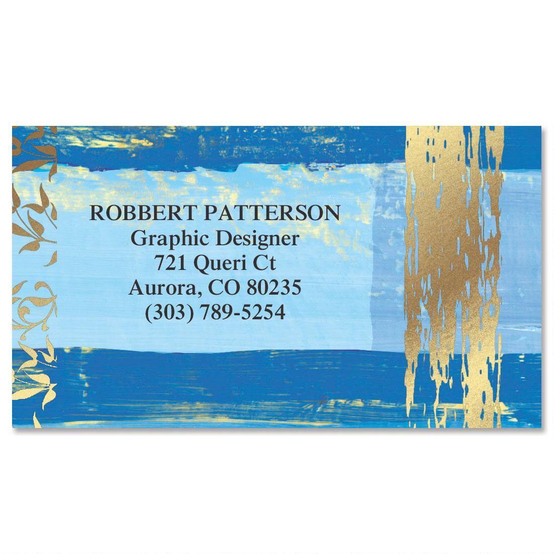 Impressions Foil Calling Card