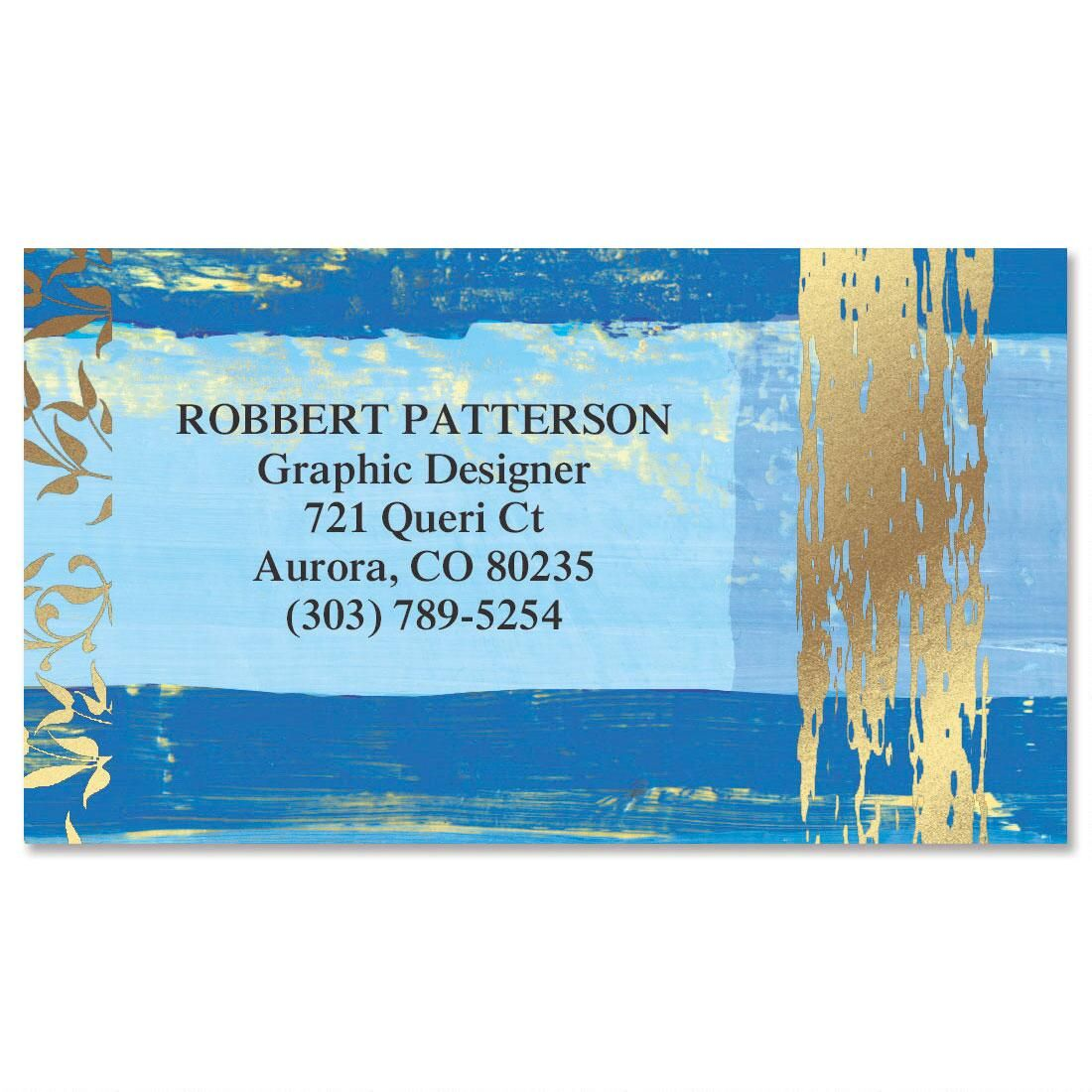 impressions foil calling card - Calling Card