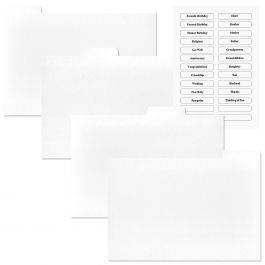 Greeting Card Organizer Refills