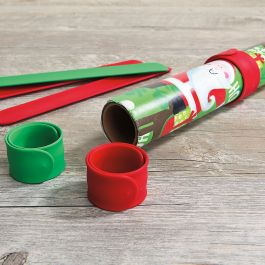 Silicone Holiday Red & Green Flip Wraps Value Pack