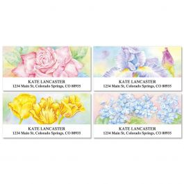 Floral Fancy Deluxe Address Labels Current Catalog