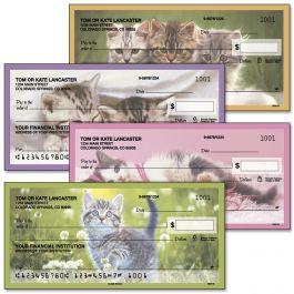 Cuddly Kittens  Single Checks
