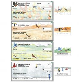 Wildbirds Single Checks with Matching Address Labels