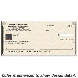 Securiguard Parchment Hologram Premium Single Checks