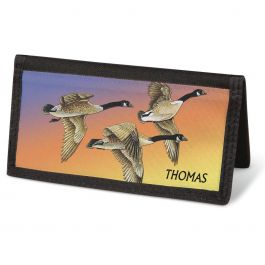 Wildlife Checkbook Cover-Personalized-088289B