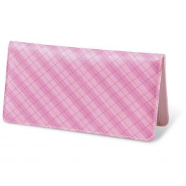 Perfectly Plaid Fabric Checkbook Cover