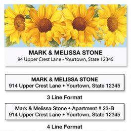 Sunflower Address Labels Current Catalog