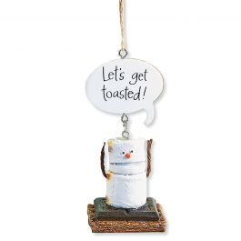 Let's get toasted! S'more Ornament