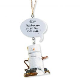 Hey!! Watch where... S'more Ornament