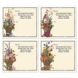 Sandi S Four Seasons Mailing Package Label 4 Designs