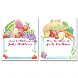 Nature's Goodness Canning Labels - Small