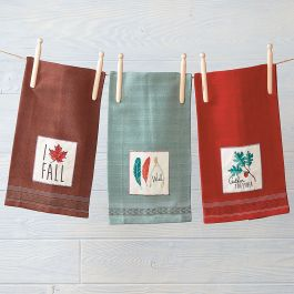 Autumn Kitchen Towels Current Catalog