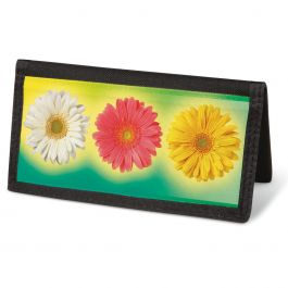 Illuminated Petals  Checkbook Cover - Non-Personalized