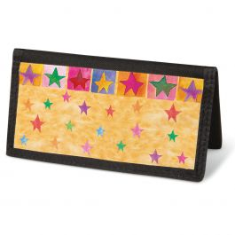 Stars On Parade  Checkbook Cover - Non-Personalized