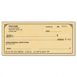 Antique Duplicate Checks