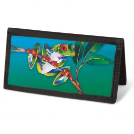 Frogs  Checkbook Covers - Non-Personalized