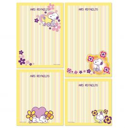 Snoopy Personalized Personalized Notepad Set Current