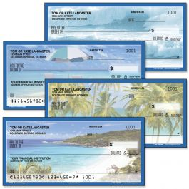 Tropical Paradise II Single Checks
