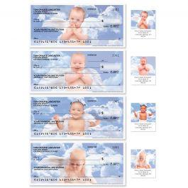 Good Heavens Single Checks With Matching Address Labels