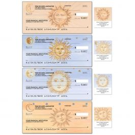 Sun and Moon Duplicate Checks With Matching Address Labels
