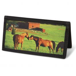 Horse Enthusiast  Checkbook Cover - Non-Personalized