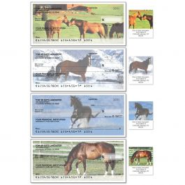 Horse Enthusiast Duplicate Checks With Matching Address Labels