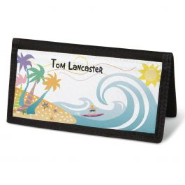 Tropical Moods  Checkbook Cover - Personalized