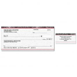 Executive Single Checks With Matching Address Labels