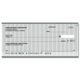 Pinstripe Duplicate Checks