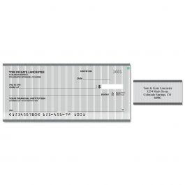 Pinstripe Duplicate Checks With Matching Address Labels