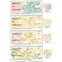 Bella Silhouette Single Checks With Matching Address Labels