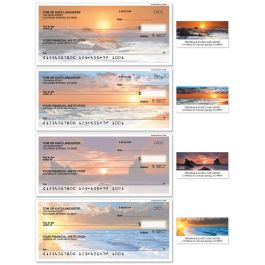 Dramatic Shores Single Checks with Matching Address Labels