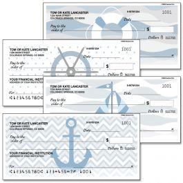 Nautical Chic Duplicate Checks