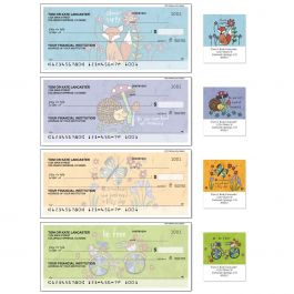 Whimsy Single Checks With Matching Address Labels