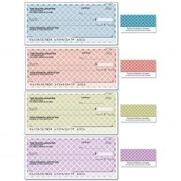 Renaissance Single Checks with Matching Labels