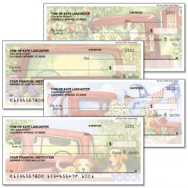 Red Truck Single Checks